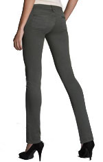 Grey Color Skinny Jeans