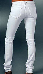 White Color Skinny Jeans
