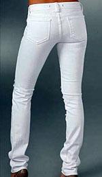 White Color Skinny Jeans